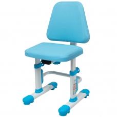 Регулируемый стул для школьника Rifforma-05 LUX голубой