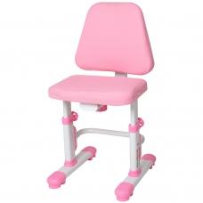 Регулируемый стул для школьника Rifforma-05 LUX розовый