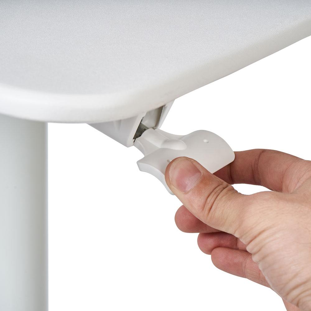 Парта пневматическая Rifforma-08 белая