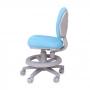 Детское кресло голубое Rifforma-21