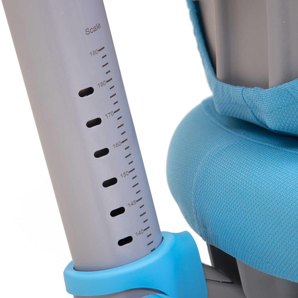Детское кресло голубое Rifforma-23