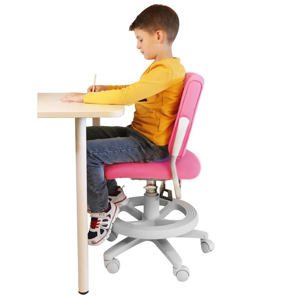Детское кресло розовое Rifforma-25