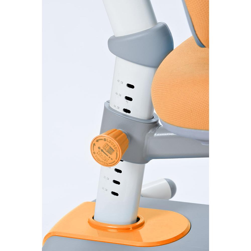Детское кресло оранжевое Rifforma-33
