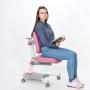 Детское кресло розовое Rifforma-33
