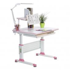 Растущая парта для школьника Rifforma Comfort-80 розовая