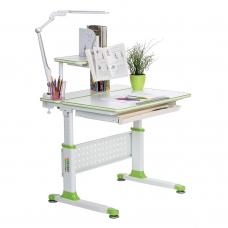 Растущая парта для школьника Rifforma Comfort-80 зеленая