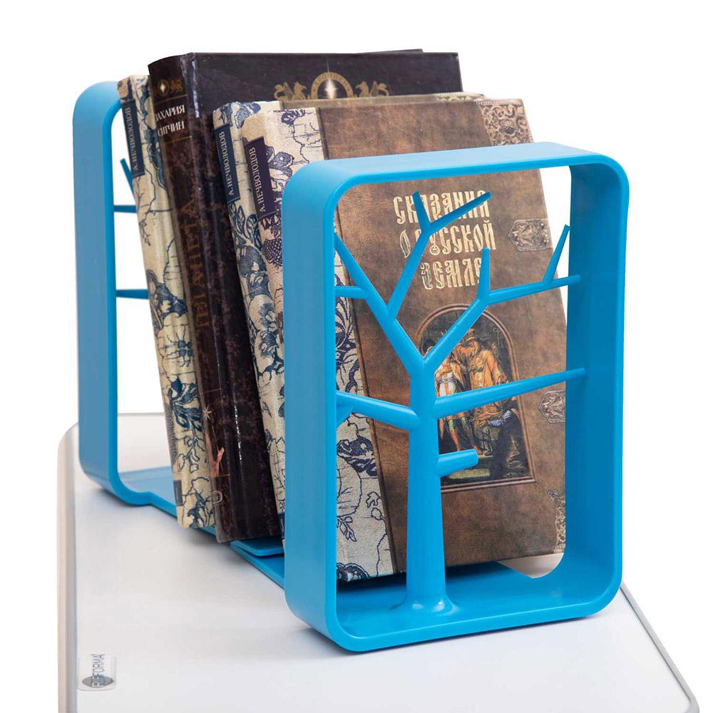 Держатель для книг голубой Rifforma
