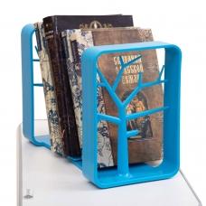 Подставка для книг голубая Rifforma