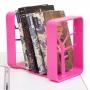 Подставка для книг розовая Rifforma