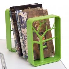 Подставка для книг зеленая Rifforma