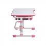 Комплект парта и стул с чехлом розовый Rifforma Set-10