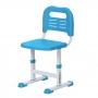 Комплект парта и стул голубой Rifforma Set-17