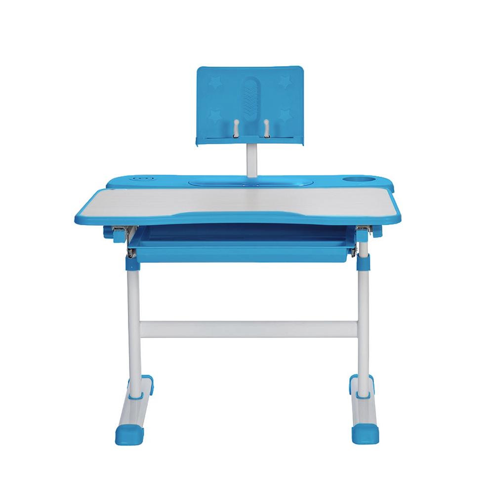 Комплект парта и стул клен и голубой Rifforma Set-17
