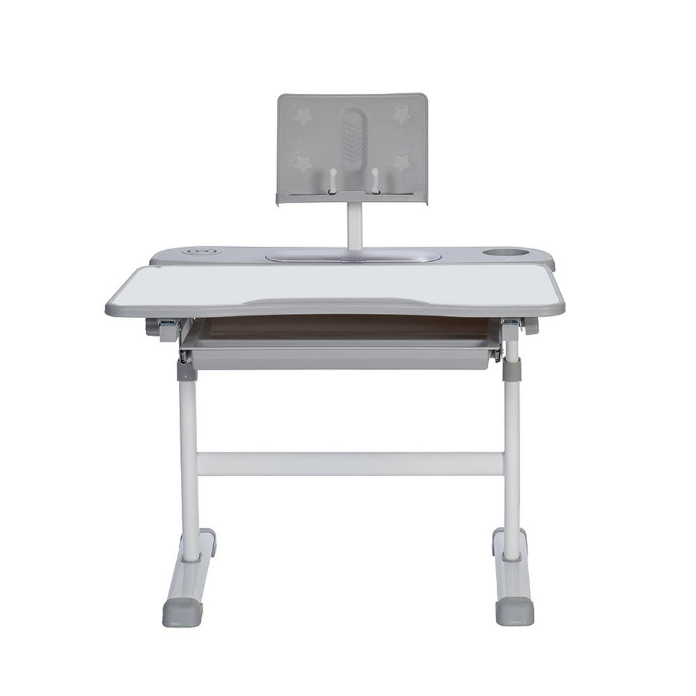 Комплект парта и стул серый Rifforma Set-17