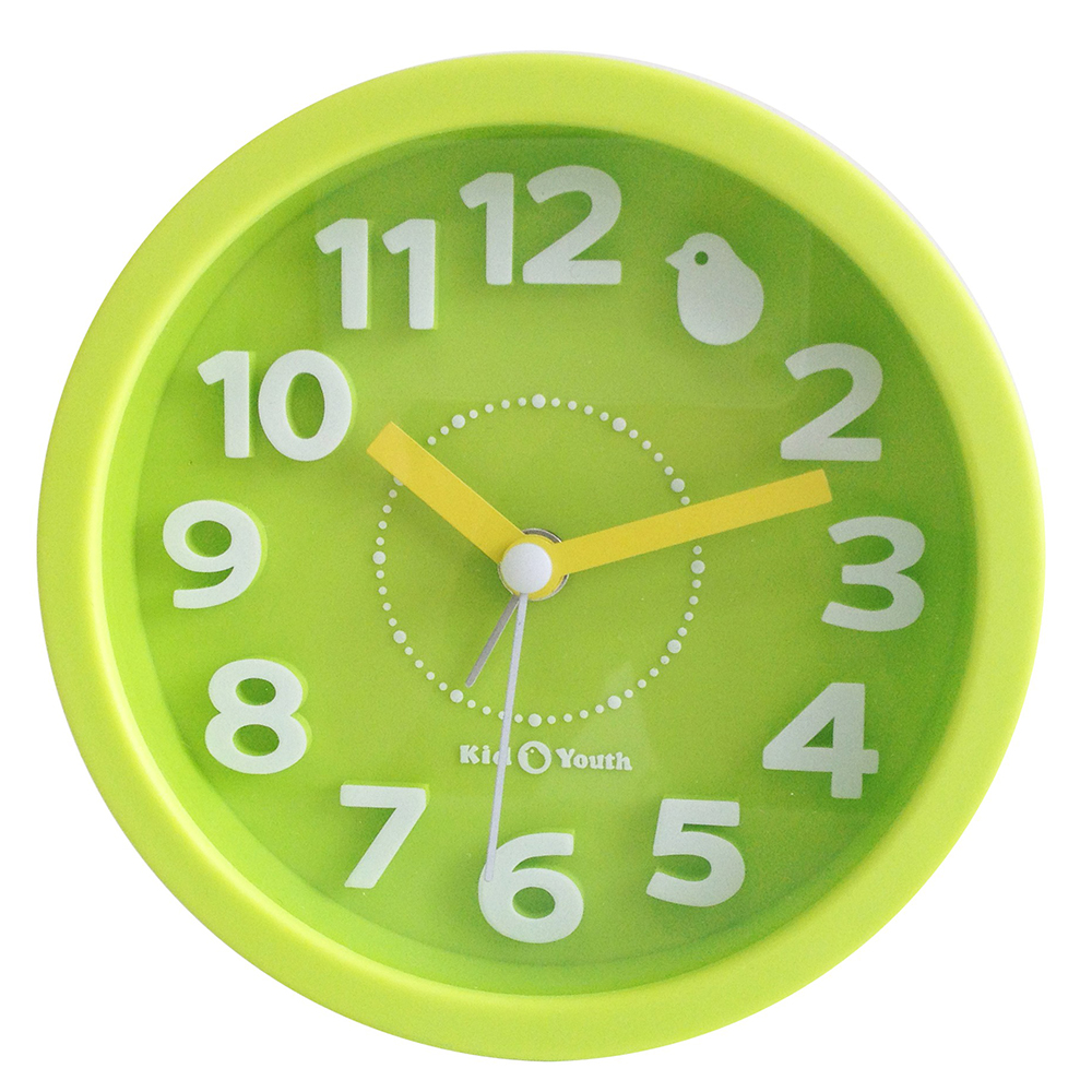 Часы-будильник настольный зеленый TCT Nanotec
