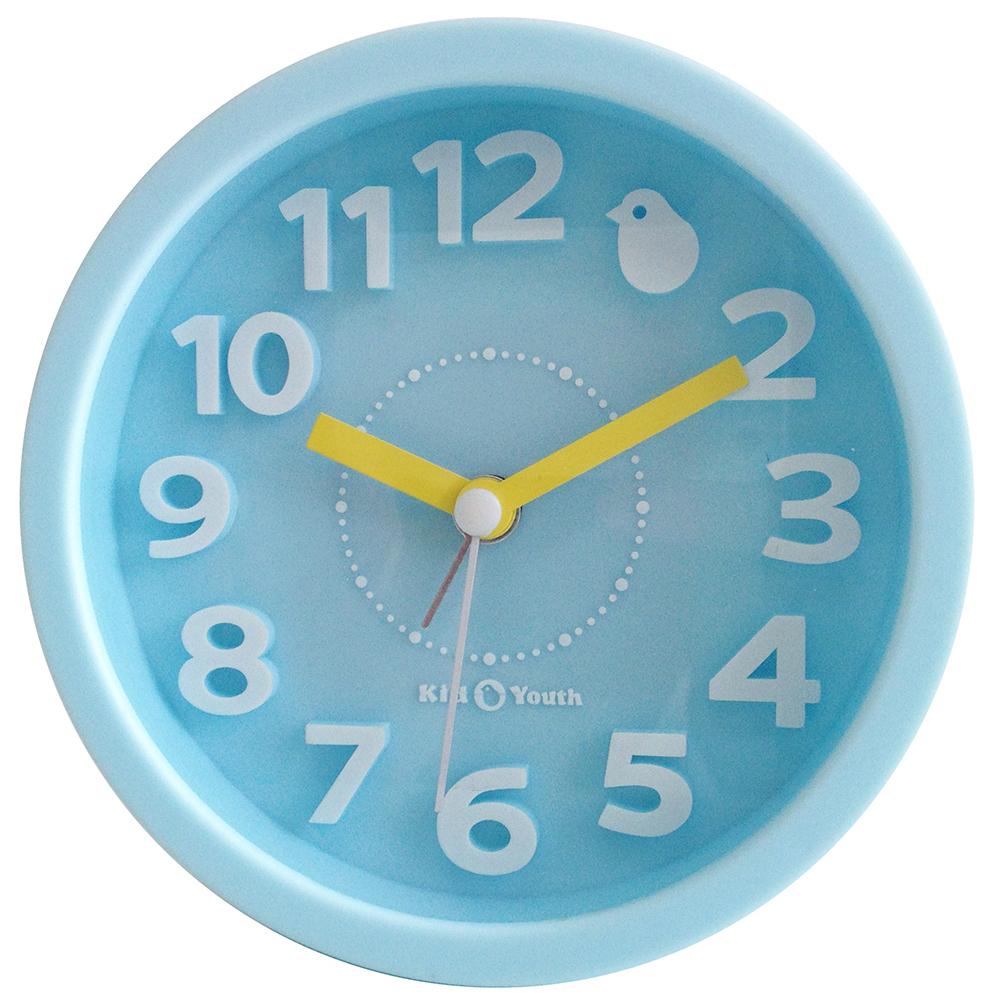 Часы-будильник настольный голубой TCT Nanotec