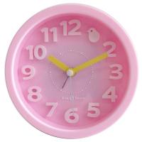 Часы-будильник настольный розовый TCT Nanotec