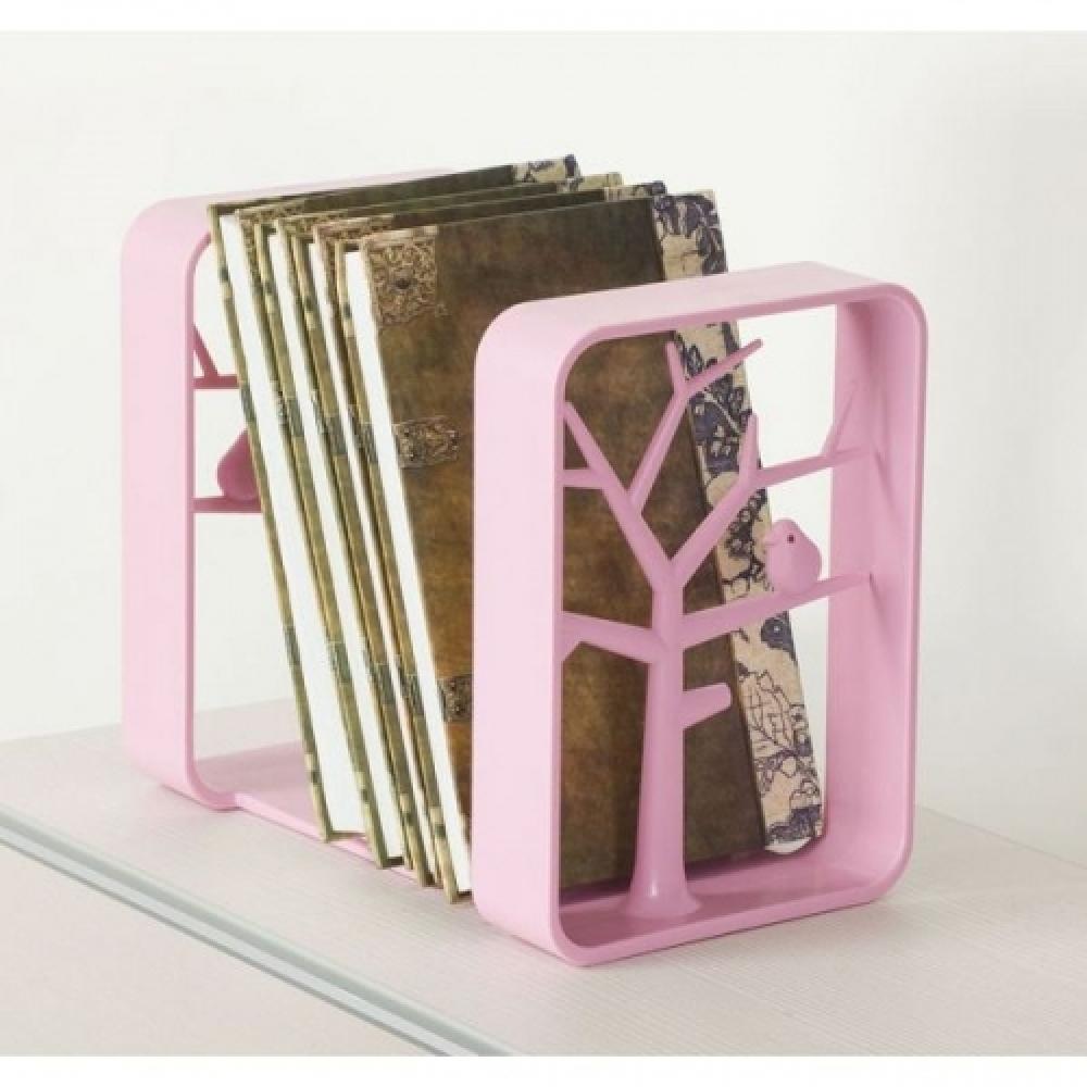 Держатель для книг розовый TCT Nanotec