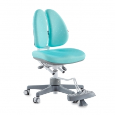 Ортопедическое кресло для школьников DUOBACK CHAIR бирюзовый