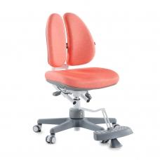 Ортопедическое кресло для школьников DUOBACK CHAIR коралловый