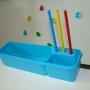 Пенал навесной голубой TCT Nanotec